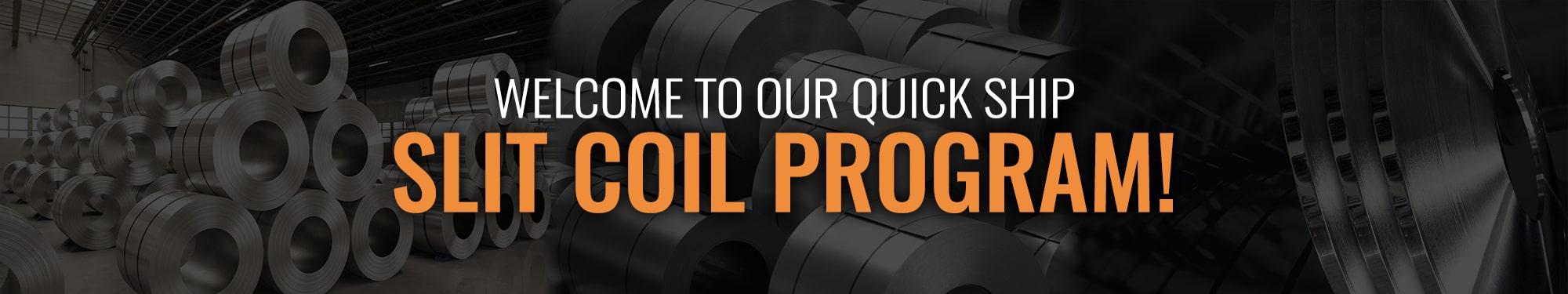Slit Coil Program Banner