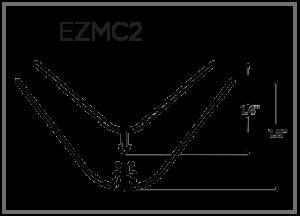 EZ-Liner PVC 2 pc Multi Corner