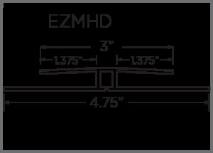 EZ-Liner PVC H-Divider