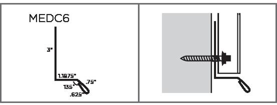 MEDC6 - Drip-Cap