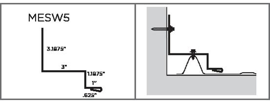 MESW5 - Sidewall Flashing