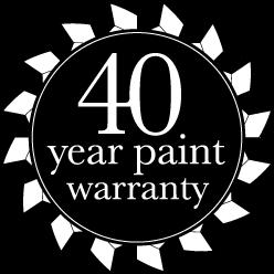 40 Year Paint Warranty